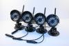 DE-W260, беспроводной комплект Монитор + 4 камеры HD